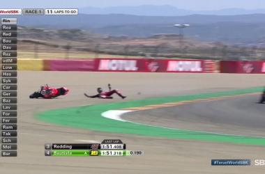 Gp Aragon Atto secondo: Vittoria italiana di Rinaldi in gara uno