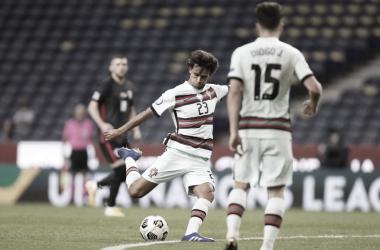 """João Félix sai satisfeito com estreia de Portugal na Nations League: """"Grande jogo contra vice-campeão mundial"""""""