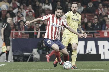 """<p class=""""MsoNormal"""">Enfrentamiento entre Atleti y Villarreal // Foto: Atlético de Madrid&nbsp;<o:p></o:p></p>"""