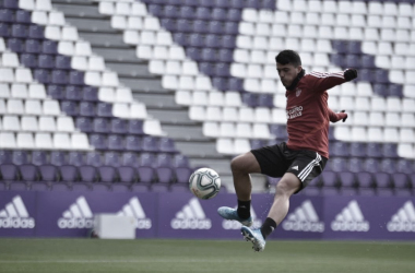 El primer equipo se ejercitó en Zorrilla | Real Valladolid