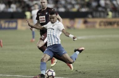 El Málaga vuelve a caer, esta vez en partido oficial