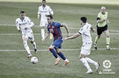 Eibar vs Getafe, jornada 10 // Fuente: LaLiga