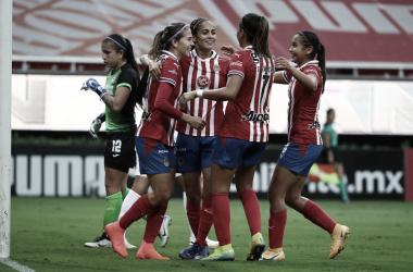 Chivas Femenil continúa invicto; vence al Cruz Azul