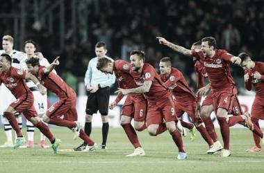 Gioia Eintracht! | Fonte immagine: Twitter @Eintracht