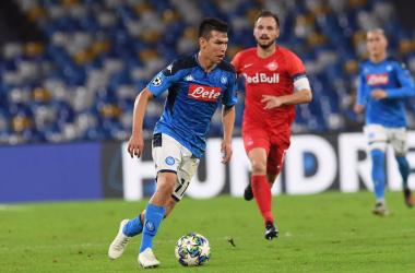 Champions League - Lozano risponde ad Haaland: 1-1 tra Napoli e Salisburgo