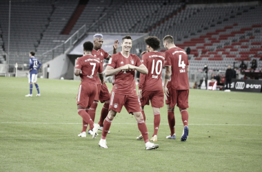 Comenzó la Bundesliga: Bayern München 8-0 Schalke 04
