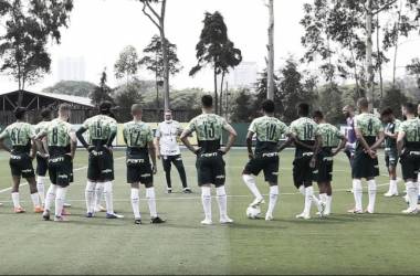 Jogadores do Palmeiras reiteram desejo de jogar contra Flamengo