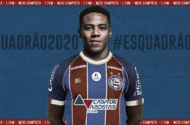 Após estar apalavrado com Santos, Elias é anunciado no Bahia