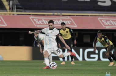 Argentina gritó temprano y consiguió la victoria que buscaba