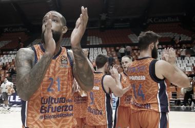 Valencia Basket logra vencer en un encuentro muy apretado