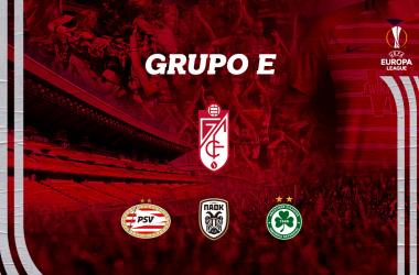 PSV Eindhoven, PAOK y Omonia de Nicosia, rivales del Granada CF en la Europa League