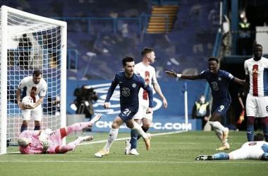 Tempos distintos do Chelsea marcam goleada sobre Crystal Palace pela Premier League