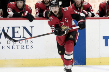 Erik Karlsson may be headed to the Dallas Stars if a trade can be worked out. (Photo: Marc DesRosiers-USA TODAY SPORTS)