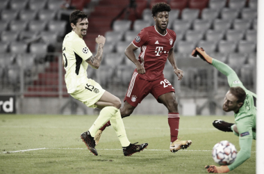 Com grande atuação de Coman, Bayern goleia Atlético de Madrid