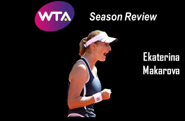 Ekaterina Makarova endured through a tough stretch of results this year | Edit: Don Han
