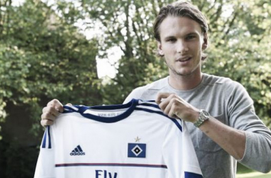 Ekdal should help HSV to be more creative in midfield (Photo source: hsv.de)