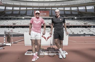 Federer felicita a Nadal tras conquistar Roland Garros