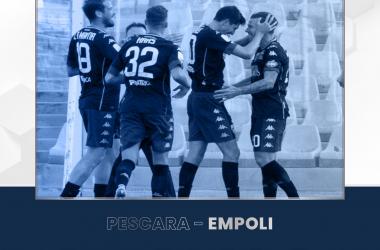 L'Empoli espugna l'Adriatico: battuto il Pescara 2-1