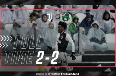 Serie A - La Juventus non va oltre il 2-2 contro il Sassuolo