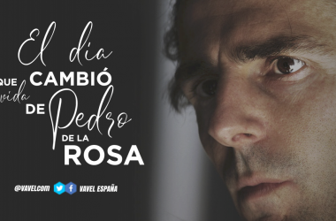 6 de agosto de 2006, el día que cambió la vida de Pedro de la Rosa