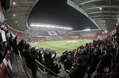 El Molinón, lleno para el partido contra el Zaragoza