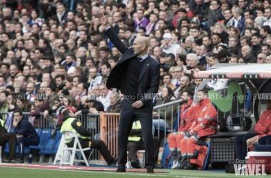 Zidane: ''Ojalá podamos seguir así''