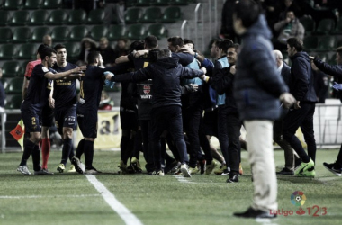 El UCAM consigue un heroico punto del Martínez Valero | Imagen: UCAM Murcia CF