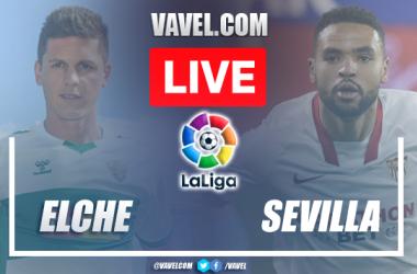 Goals and Highlights: Elche 1-1 Sevilla in LaLiga 2021