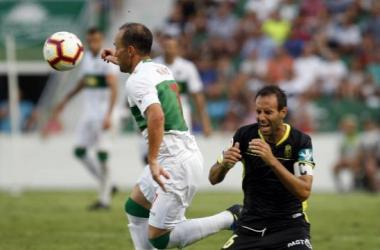 Lance del partido Elche - Granada de Liga esta temporada | Foto: La Liga