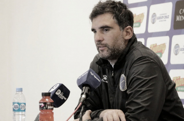 Javier Patalano realizará algunos cambios para enfrentar a Argentinos Juniors. Foto: Prensa Godoy Cruz.