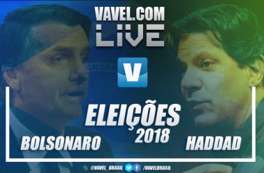 Eleições Brasil 2018: Resultados Jair Bolsonaro x Fernando Haddad