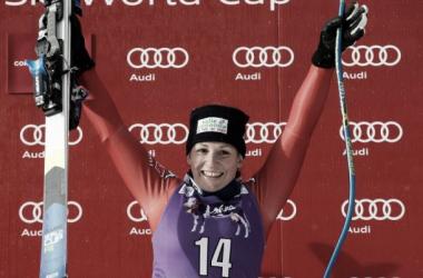Elena Fanchini trionfa a Cortina: seconda vittoria in carriera per l'azzurra