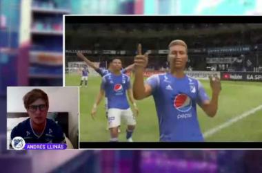 Millonarios le ganó al Bucamaranga, iniciando con el pie derecho la eLiga Dimayor
