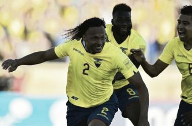 Mina fue clave en la goleada de Ecuador (Foto: La Nación).