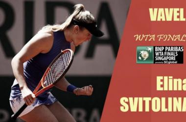 WTA Finals 2017. Elina Svitolina: directa a la élite