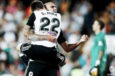El Valencia de Benítez consiguió su quinta Liga en La Rosaleda