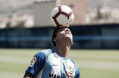 """Renato, en su presentación: """"Para mí fue fácil apostar por el Málaga"""""""