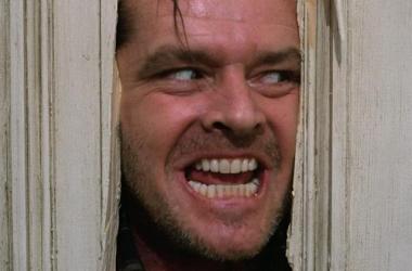 Jack Nicholson en 'El Resplandor'. (Foto: rr.pp.com).