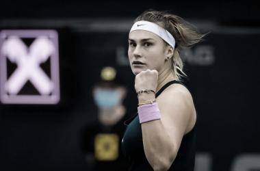 Sabalenka derrota Mertens e é campeã do WTA de Linz