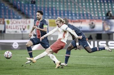 El Leipzig despierta y deja sin respuesta al PSG