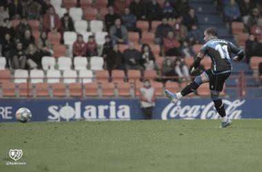 Embarba durante el partido contra el Lugo | Rayo Vallecano