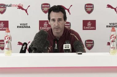 """Emery: """"La Premier League es la competición más importante para nosotros"""""""