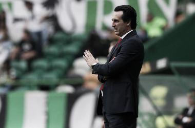 """Emery: """"Tres partidos son muchos, y ahora nos centramos en el Crystal Palace"""""""