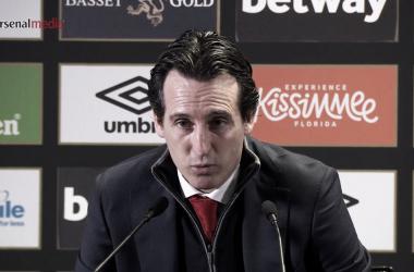 """Emery sobre la no convocatoria de Özil: """"Los que estaban aquí era porque lo merecían"""""""