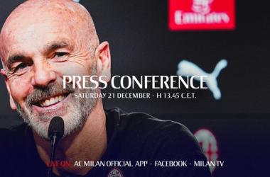 """Milan, Pioli in conferenza: """"Dobbiamo tornare a essere protagonisti. Abbiamo bisogno di punti"""""""