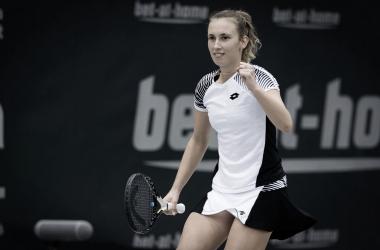 Mertens derrota Kudermetova e garante vaga nas semis em Linz