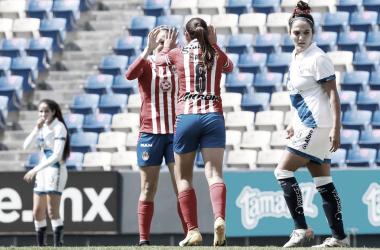 Chivas Femenil golea en su visita a Puebla