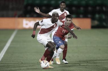 Chile 2-0 Perú: la blanquirroja se complica en la Clasificación Sudamericana 2022