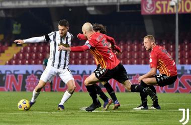 Super Morata non basta: a Benevento è 1-1