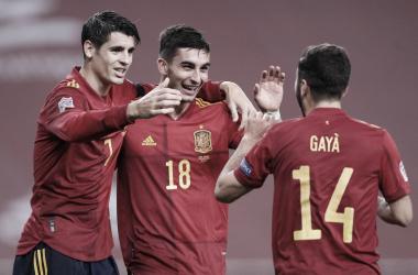 España vuelve a tomar la cima de grupo B de la zona europea | Fotografía: UEFA